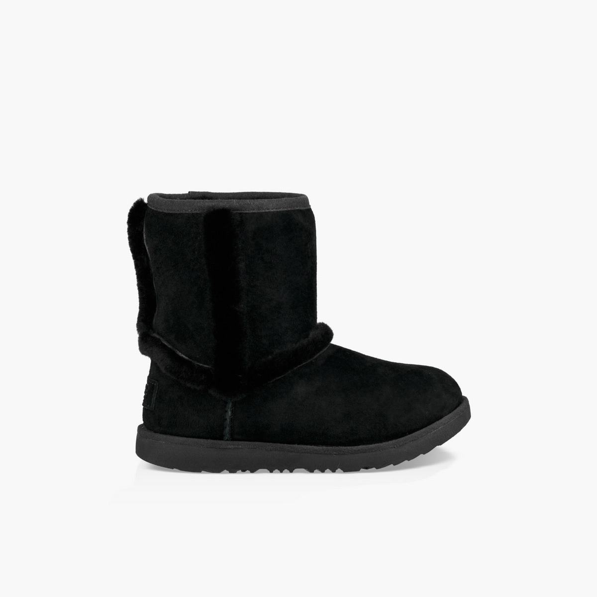 Girls UGG Hadley II Wp Boot Black Boots New Zealand, 401GVHPA